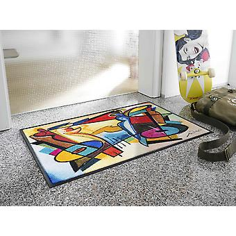 lavage + sec humeur festival par Alfred Gockel tapis lavable
