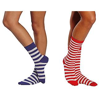 Chaussettes rayures accessoires Carnaval