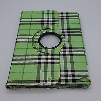 For iPad mini 1/2/3 case/sleeve-Checkered-Green