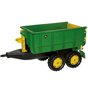 Rolly Toys 125098 RollyContainer John Deere Aanhanger