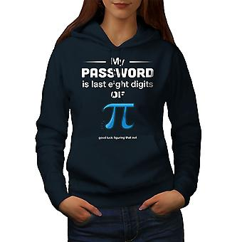 Funy Math Women NavyHoodie | Wellcoda, mitä sinä olet?