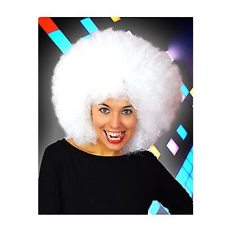 Wigs  Afro wig white