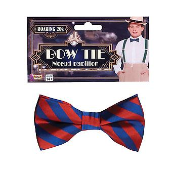 Bow Tie Sriped Red/Blue