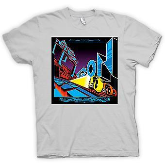 Мужская футболка-Tron - поп-арт - прохладный фильм B