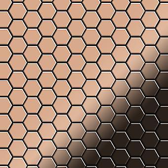 Metalowa mozaika z miedzi Alloy Honey-CM