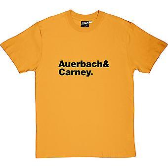 Black Keys Line-Up Yellow Men's T-Shirt