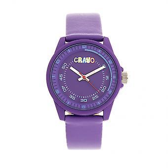 Crayo Jolt unisex Watch-roxo