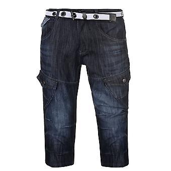 No Fear Mens Belt Cargo Shorts