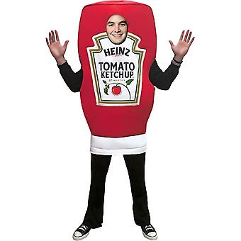 Heinz flaska Ketchup Adult kostym