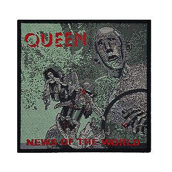 Queen News Of The World Woven Patch