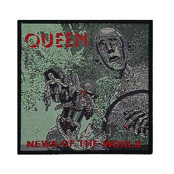 Královna novinky ze světa tkané záplata