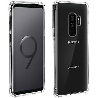 Samsung Galaxy S9 Plus Case, erzwungene Angles, Silikon-Haut-Transparent