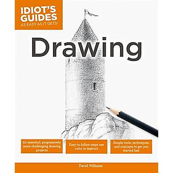 Idiot's Guides - Drawing by David Williams - 9781615644148 Book