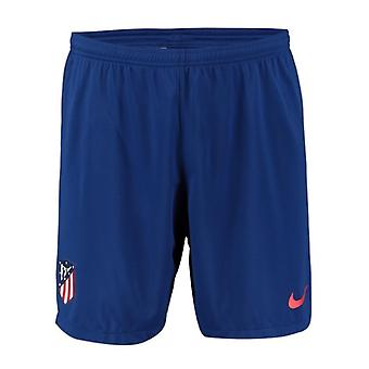 2019-2020 Atletico Madrid Home Nike jalka pallo shortsit (sininen)