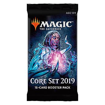 Magic the Gathering: Core set 2019 Booster 1-Pack. Kaart