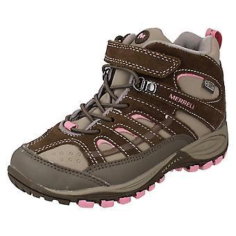 Girls Merrell Hiking Boots Chameleon 4 Mid Trek Wtpf