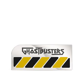 Ghostbusters Hazard Engraved Pin In 14K Rose Gold