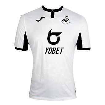 2019-2020 Swansea City Joma Home Football Shirt