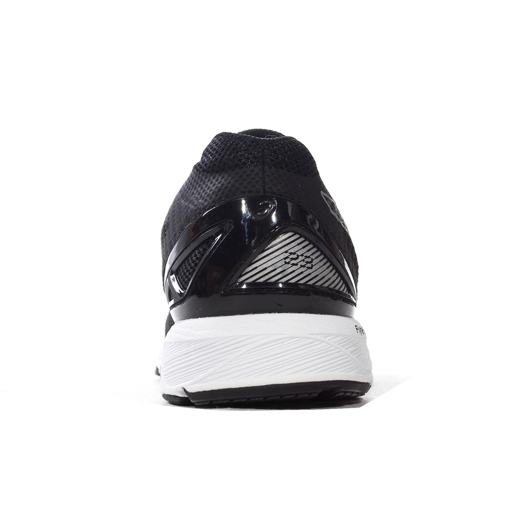 Asics Gel-DS 23 Womens Ladies Running Trainer Shoe Black/Silver