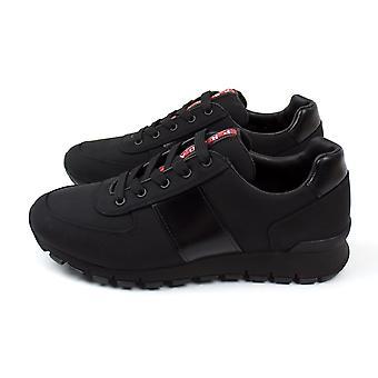 Prada ottelu Race Runner Sneakers Nero