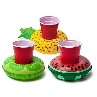 Fruit opblaasbare drank praalwagens