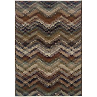 Adrienne 4205c grey/multi indoor area rug rectangle 9'10