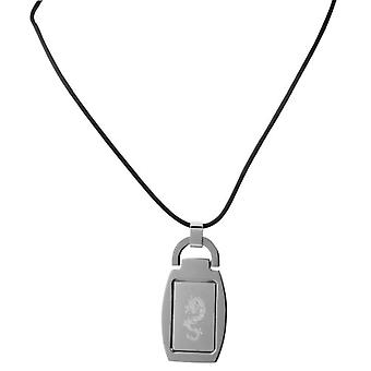 Akzent 002650000064 - Chain with women's pendant - stainless steel - 500 mm