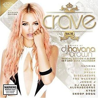 DJ Havana Brown - Crave Vol. 10: Diamond Edition [CD] USA import