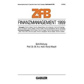 Finanzmanagement 1999 door Albach & Horst