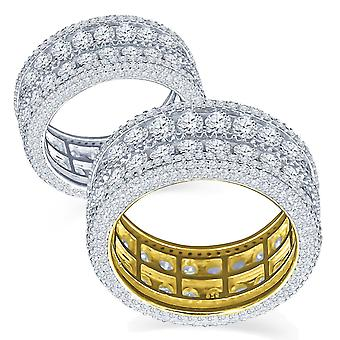 Sterling 925 Silver Micro Pave Ring - WINSOME