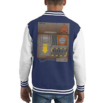 The Crystal Maze Lock In Board Rust Kid's Varsity Jacket