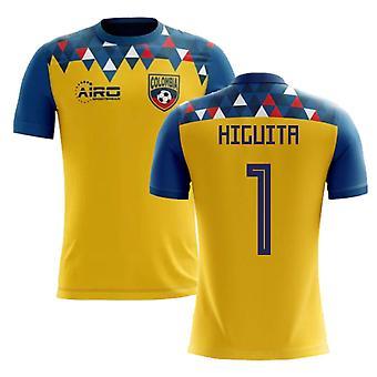 2018-2019 Kolumbien Konzept Fußball Shirt (Higuita 1)