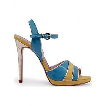 Paris Hilton - Shoes - Sandal - 8605_VERDE-GIALLO-PLATINO - Ladies - yellow,turquoise - 39