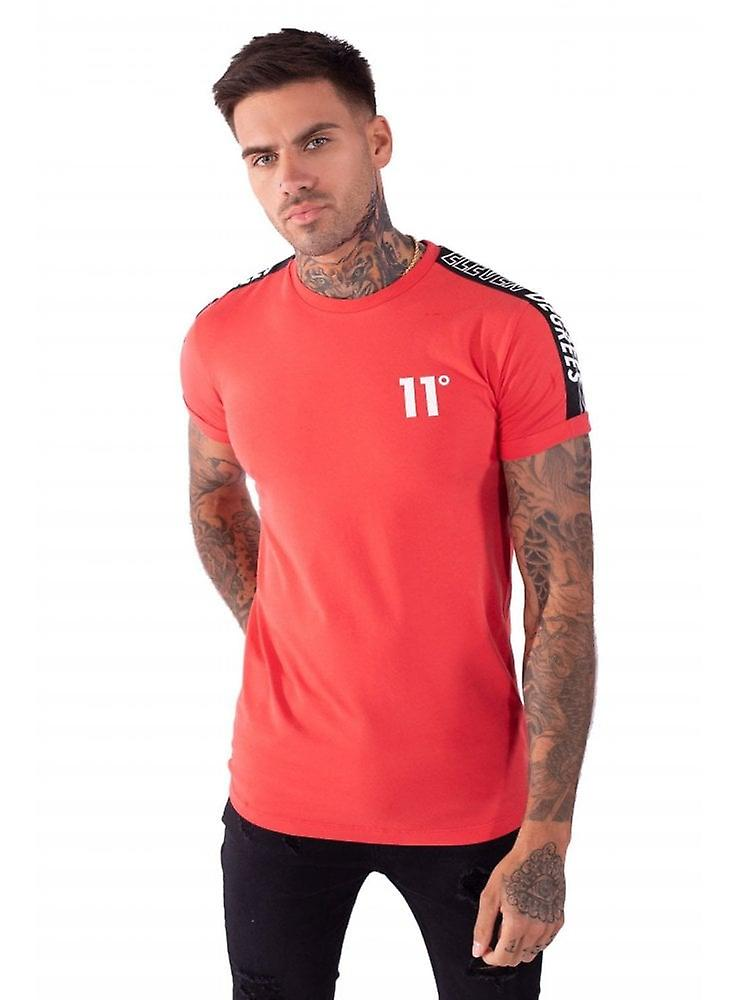 11 Degrees Taped Muscle Fit T Shirt
