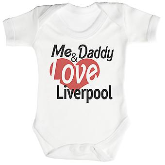 Me & Daddy Love Liverpool Baby Bodysuit / Babygrow