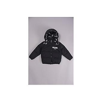 Moschino Baby Mutli Logo Hooded Coat