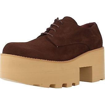 Gelbe Schuhe Casual Sorrento Color Brown