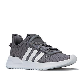 Children Boys adidas Originals U_Path Run Trainer In Grey- Flexible Breathable