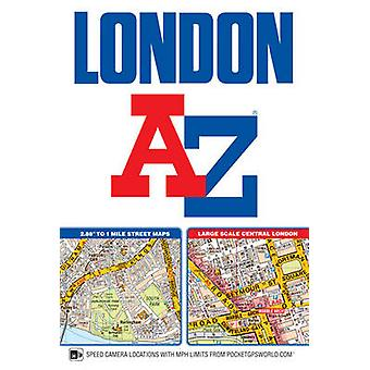Londen AZ Street Atlas paperback