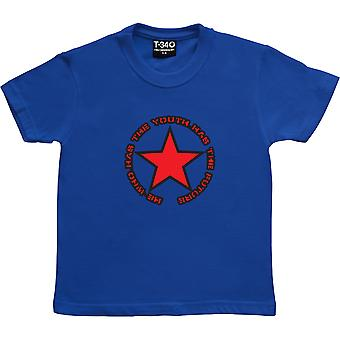 He Who Has The Youth Has The Future Royal Blue Kids' T-Shirt