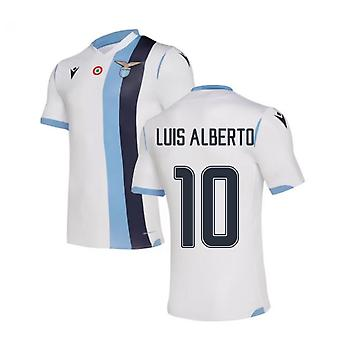 2019-2020 لاتسيو أصيلة قميص بعيدا (لويس ألبرتو 10)