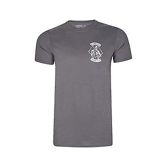 Fumetsu boksen Club T-shirt grijs