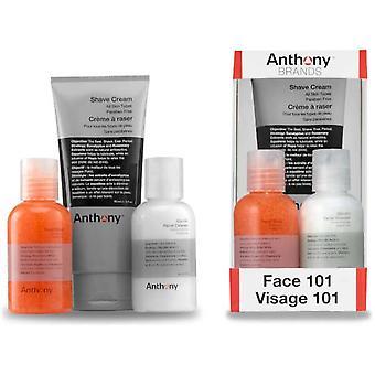 Face Box 101 - Reiniger / Exfoliator / Cr me Shave