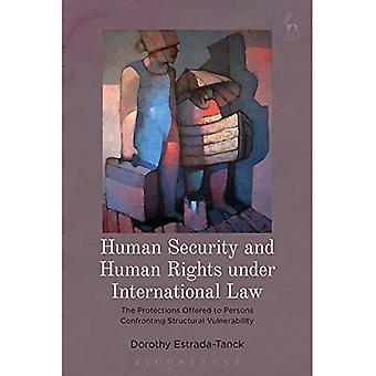 Mänsklig säkerhet och mänskliga rättigheter enligt internationell rätt: de skydd som erbjuds personer som konfronteras strukturella sårbarhet