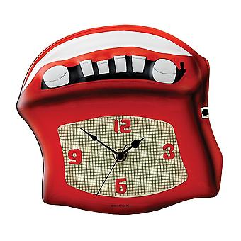 Timewarp Retro Radio Wall Clock