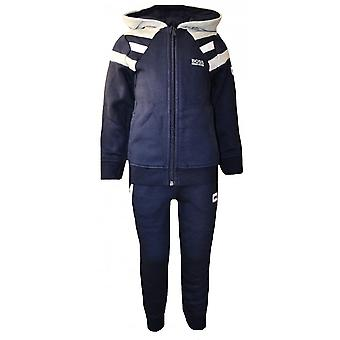 Hugo Boss jungen Hugo Boss Kids Navy blau mit Kapuze Trainingsanzug