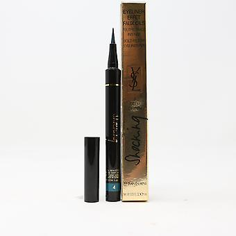 Yves Saint Laurent Shocking Eyeliner Pen 4 Deep Green 0.03oz/1ml nuovo in scatola