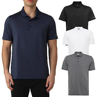 Wolsey Mens Stretch Temperature Regulating Jersey Golf Polo Shirt