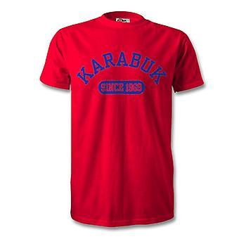 Karabukspor 1969 gegründet Fußball Kinder T-Shirt