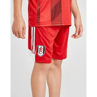 New adidas Boys' Fulham FC 2019/20 Away Shorts Red